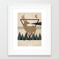 power Framed Art Prints featuring Power by Liam Smith