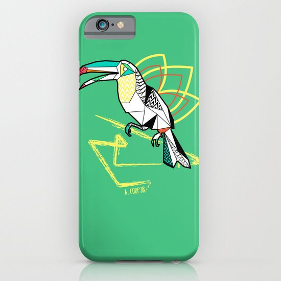Geometric toucan iPhone & iPod Case