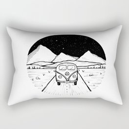 On The Road Rectangular Pillow