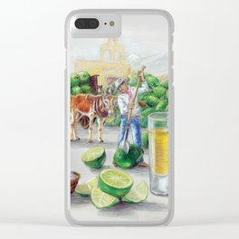 Los Limadores Clear iPhone Case