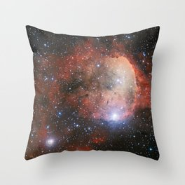 The Star Formation Region NGC 3324 Throw Pillow