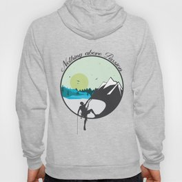Nothing above Passion Motivation sentence Hoody