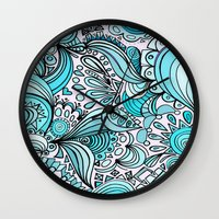 crystal Wall Clocks featuring Crystal by DuckyB