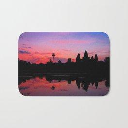 Angkor Wat Sunrise Reflection Bath Mat