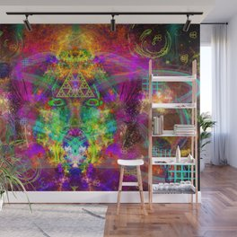 Aliens Fried My Mind Wall Mural