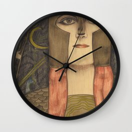 Pallas Athena Wall Clock
