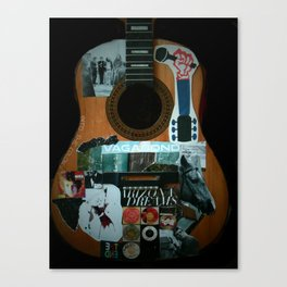 I AM A GUITARE  Canvas Print