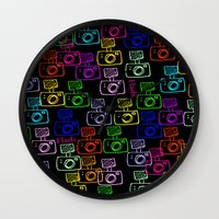 flash Wall Clocks featuring Flash by LoRo  Art & Pictures