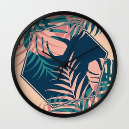 Tropical Dreams #society6 #decor #buyart Wall Clock