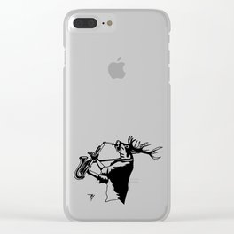 AniMusic (DEER) Clear iPhone Case