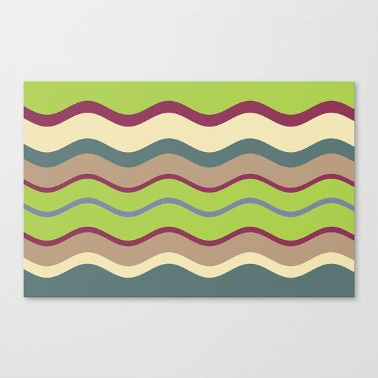 Appley Wave Canvas Print
