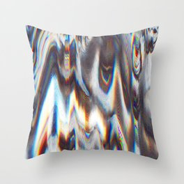 Glitch 2 Throw Pillow