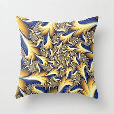 Feather Delight Throw Pillow