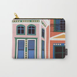 San Francisco victorian house Carry-All Pouch