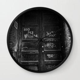 Hidden Away Wall Clock