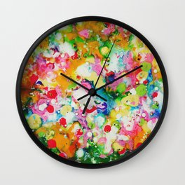 Full abstract Wall Clock