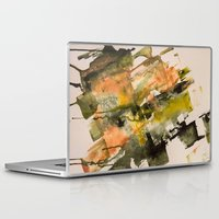the strokes Laptop & iPad Skins featuring Autumn Strokes by Bestree Art Designs