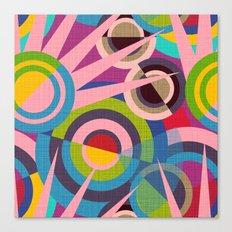 Delaunay Dreams Canvas Print