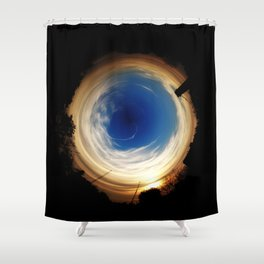 From the Gutter to Infinity Shower Curtain