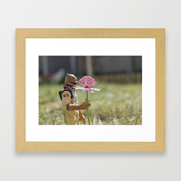 Bossk in love Framed Art Print