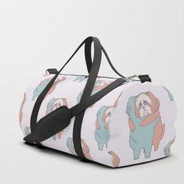 Shih Tzu Hugs Duffle Bag