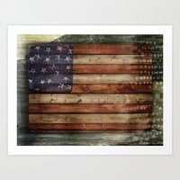 america Art Prints featuring america by Arken25