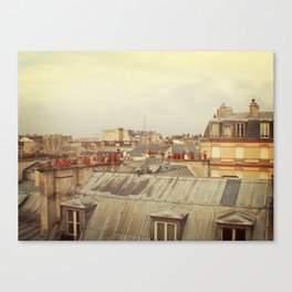 Living in Paris Canvas Print
