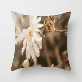 Bloom in Adversity Throw Pillow
