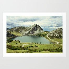 Covadonga Art Print