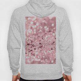 Rose Gold Blush Girls Glitter #1 #shiny #decor #art #society6 Hoody
