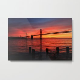 Sunrise of San Francisco Metal Print