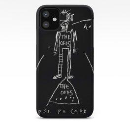 Basquiat The Offs iPhone Case