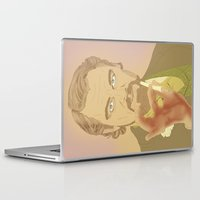 calvin Laptop & iPad Skins featuring CALVIN CANDIE by Itxaso Beistegui Illustrations