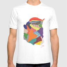 Creative Emotions Mens Fitted Tee White MEDIUM