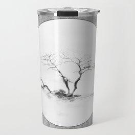 Scots Pine Paper Bag Grey Travel Mug