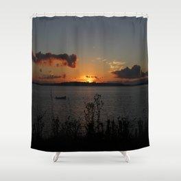 Sunset over Georgetown Shower Curtain