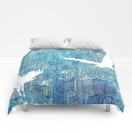 Ecotone (day) Comforters