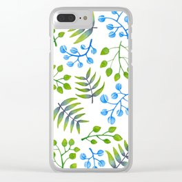 Leaves and more leaves Clear iPhone Case