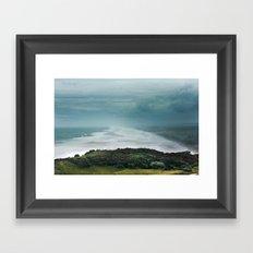 Muriwai Beach, NZ Framed Art Print