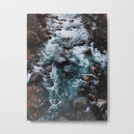 Water flow. Metal Print
