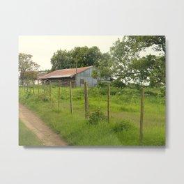 South African Barn Metal Print