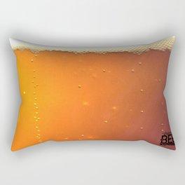 Beer Texture Rectangular Pillow