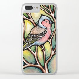Chaffinch Clear iPhone Case