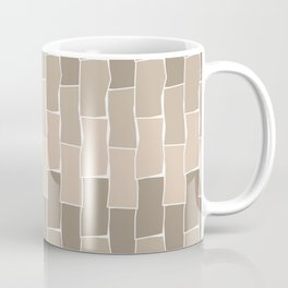Running Bond - Sand Coffee Mug