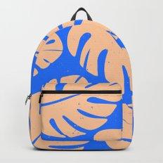 Monstera Leaf Print 5 Backpack