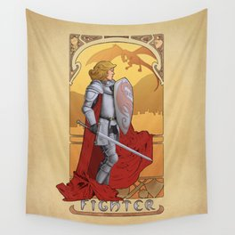 La Combattante - The Fighter Wall Tapestry