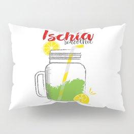 Fresh fruity drink in Ischia, Italy Pillow Sham