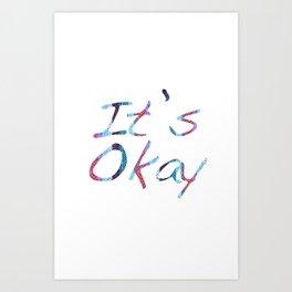 text custom Art Print
