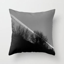 dark print Throw Pillow