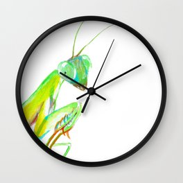 The African Mantis Wall Clock